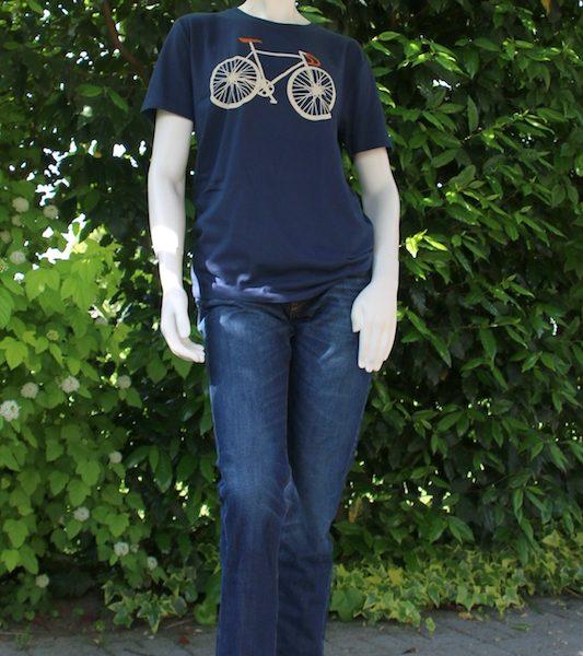 Fahrrad T-Shirt Jeans