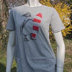 T-Shirt Pinguin, Herren, Greenbomb Kopie